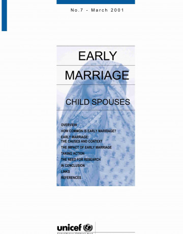 EARLY MARRIAGE CHILD SPOUSES